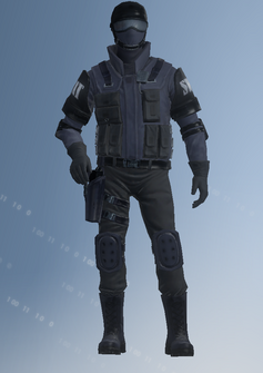 SWAT - Colin - character model in Saints Row IV