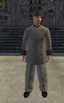 Chauffeur - white grey - character model in Saints Row