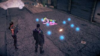 Genki defeated and his drops in Saints Row IV