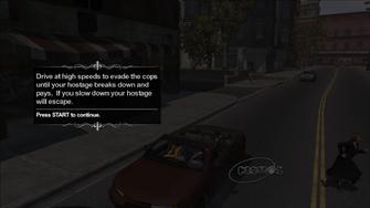 Hostage in Saints Row - tutorial