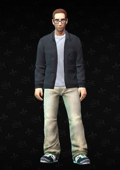 Jimmy Torbitson - Jimmy - character model in Saints Row The Third