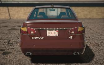 Saints Row IV variants - Eiswolf ultimate - rear