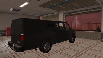 Saints Row variants - Anchor - CS Van - rear right