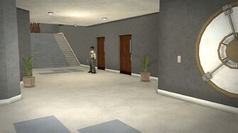 Stilwater Savings & Loan - interior guard and vault