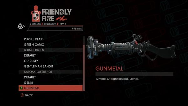 Weapon - Shotguns - Pump-Action Shotgun - Kardak Lasershot - Gunmetal