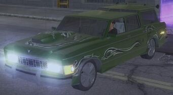 Wellington - front left with lights in Saints Row 2