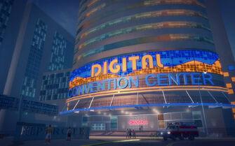 Athos Bay in Saints Row 2 - Digital Convention Center