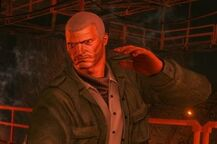 Cyrus in Saints Row IV without STAG Armour