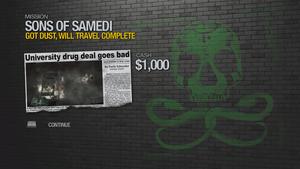 Got Dust, Will Travel - complete 1000 cash
