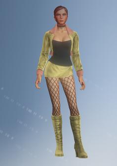 Ho01 - Jill - character model in Saints Row IV