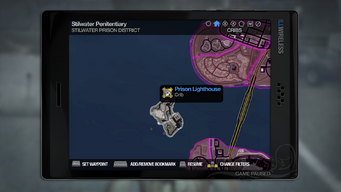 Prison Lighthouse - map marker