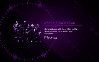 Saints Row IV DLC Unlock - Zinyak Attack Pack
