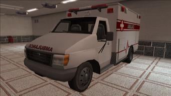 Saints Row variants - Ambulance - front left