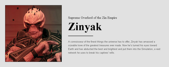 Saints Row website - People - The Zin - Zinyak