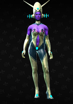 Saints Space Amazon Elite - character model in Saints Row The Third