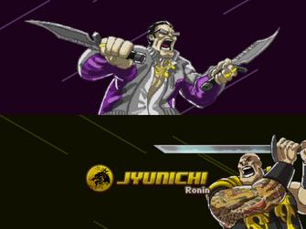 Welcome Back - Saints of Rage - Gat v Jyunichi title