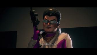 When Good Heists Go Bad - Playa at beginning of opening cutscene