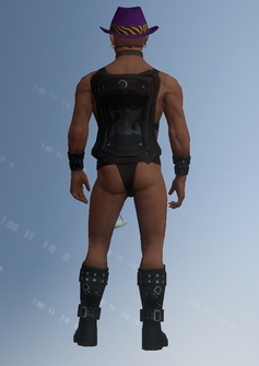 Zimosb - rear - character model in Saints Row IV