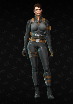 Cypher front - character model in Saints Row The Third