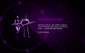 Grass Roots Pack unlocked