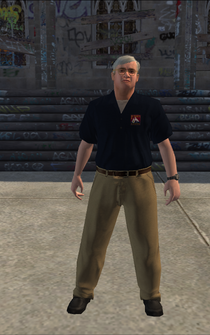 Loan Shark - Dan - character model in Saints Row