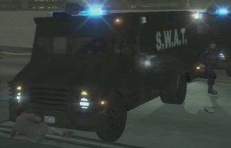 Peacekeeper - front left with lights in Saints Row 2