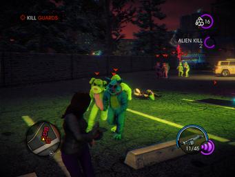 Psychosomatic - Kill Guards objective