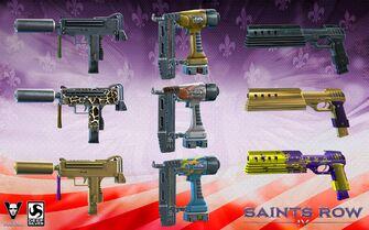 SRIV weapon customization promo