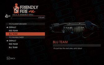 Weapon - Special - Incinerator - TF2 Flamethrower - Blu Team