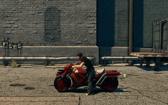 Bloody Cannoness - left in Saints Row The Third