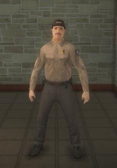 Cop - prison asian male - character model in Saints Row 2