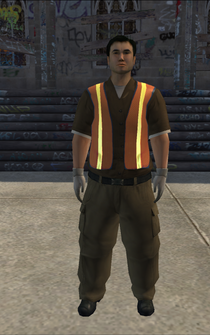 Garbageman - white2 - character model in Saints Row