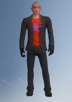 Morningstar - Pete - character model in Saints Row IV