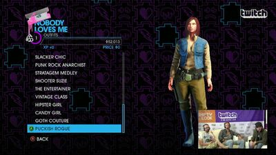 Nobody Loves Me - Puckish Rogue Outfit in Saints Row IV
