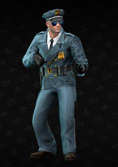 Cop - sniper - John - character model in Saints Row The Third