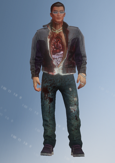Johnny Gat - dead - character model in Saints Row IV