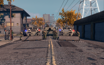 SRTT Roadblock - Police level 5 - small