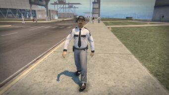 Security Guard at the Nuclear Power Plant