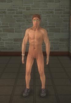 Streaker - FUZZ Streaker - character model in Saints Row 2