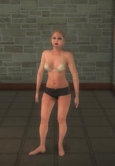 Beach female - white - character model in Saints Row 2