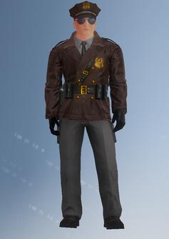 Cop - motorcycle - John - character model in Saints Row IV