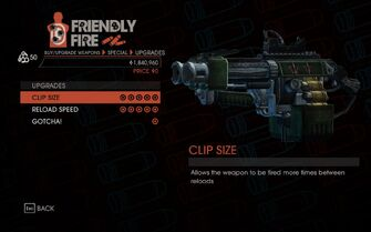 Grenade Launcher Upgrades