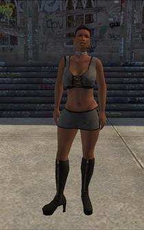 HO-02 - Black Ho - character model in Saints Row
