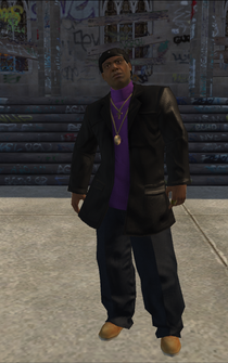 Julius - character model in Saints Row