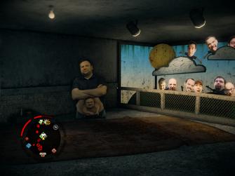 Let's Pretend basement Jim Boone in Saints Row IV
