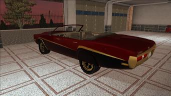 Saints Row variants - Cavallaro - LC09 - rear left