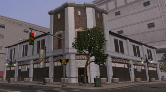 Stocks exterior in Saints Row