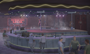 Technically Legal interior wide in Saints Row