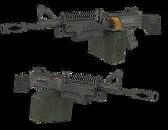 AR200 SAW - Saints Row 2 model