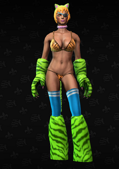 Angry Tiger - character model in Saints Row The Third